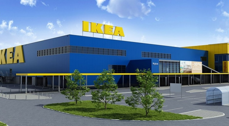 Intensywne prace w IKEA Bydgoszcz