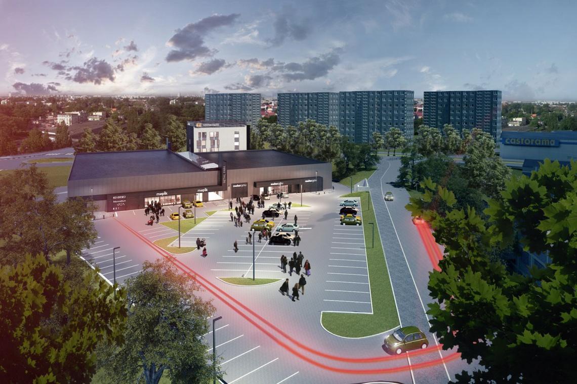 Zbliża się zakończenie budowy Grona Park - otwarcie jeszcze w 2014 r.