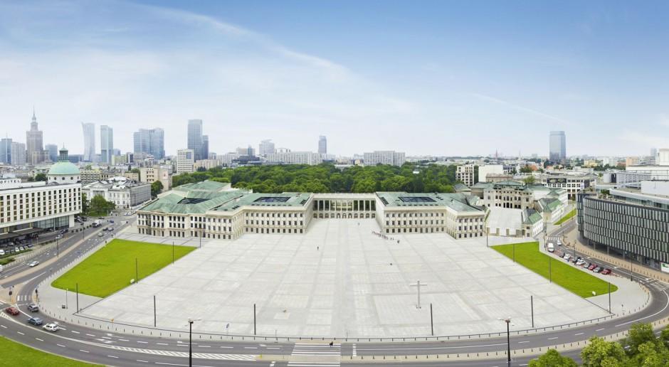 Pałac Saski stanął jednak na swoim miejscu - wirtualnie