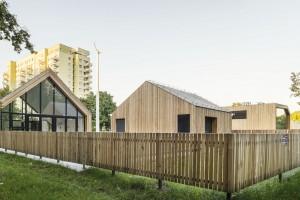 Oryginalny Służewiecki Dom Kultury w Warszawie już otwarty