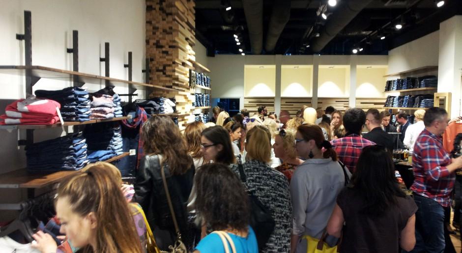 Wielkie otwarcie Lee, a na nim tłumy. To pierwszy samodzielny sklep marki w Polsce