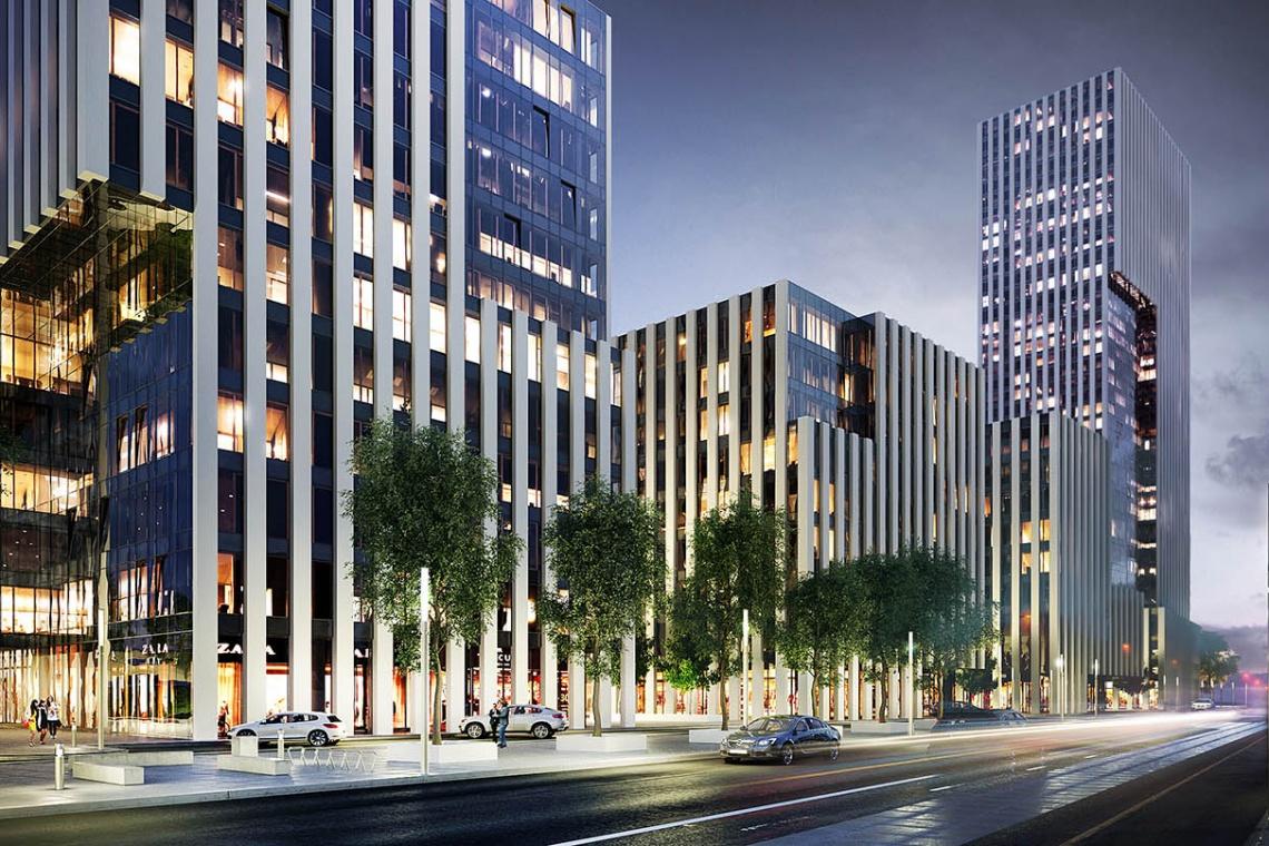Panorama Business Park według koncepcji Arch-Deco