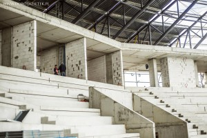 Zobacz jak rośnie stadion Tychy - mamy dużo zdjęć