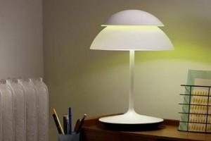 Ta innowacyjna lampa posiada dwa źródła światła