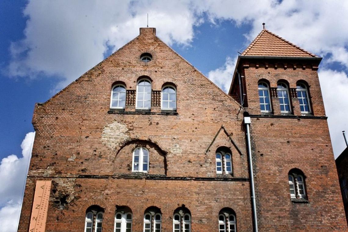 Trwa przebudowa zabytkowego CSW Łaźnia w Gdańsku