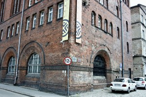 Postępują prace przy zabytkowym CSW Łaźnia w Gdańsku