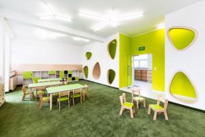 Zobacz zdjęcia bajkowego przedszkola projektu pracowni PORT