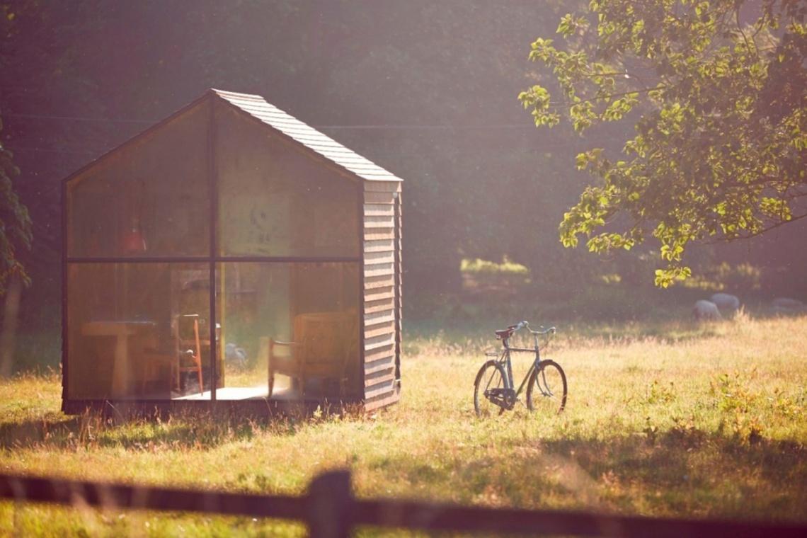 Brytyjski projektant Paul Smith marzył o nietuzinkowej altanie