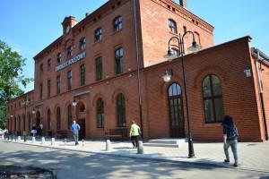 Dworzec w Pszczynie z 1890 r. odzyskał blask
