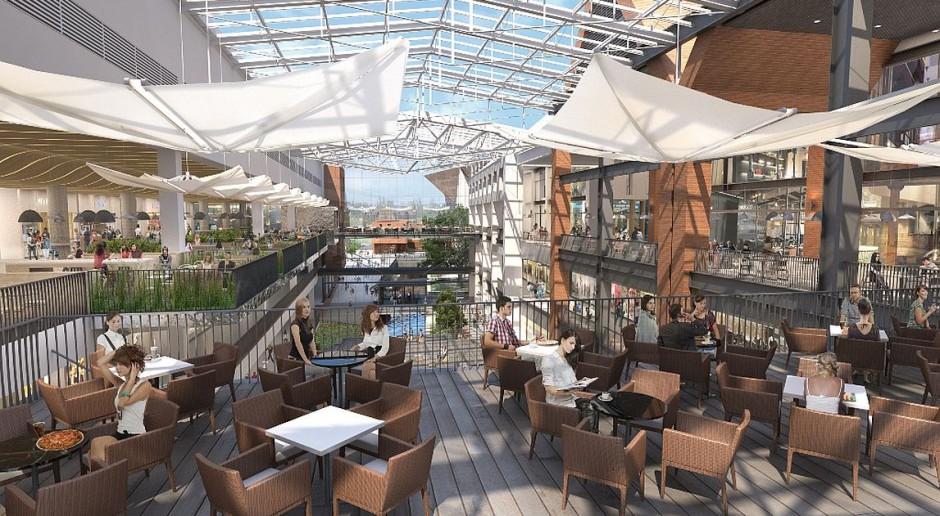 Plac miejski i bulwar ze szklanym dachem - tak zmienia się Gdańsk