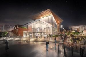 Ruszyła budowa Forum Gdańsk projektu SUD Architekt i T+T Design