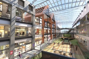 SUD Architekt zaprojektowali Forum Radunia, Warbud zbuduje