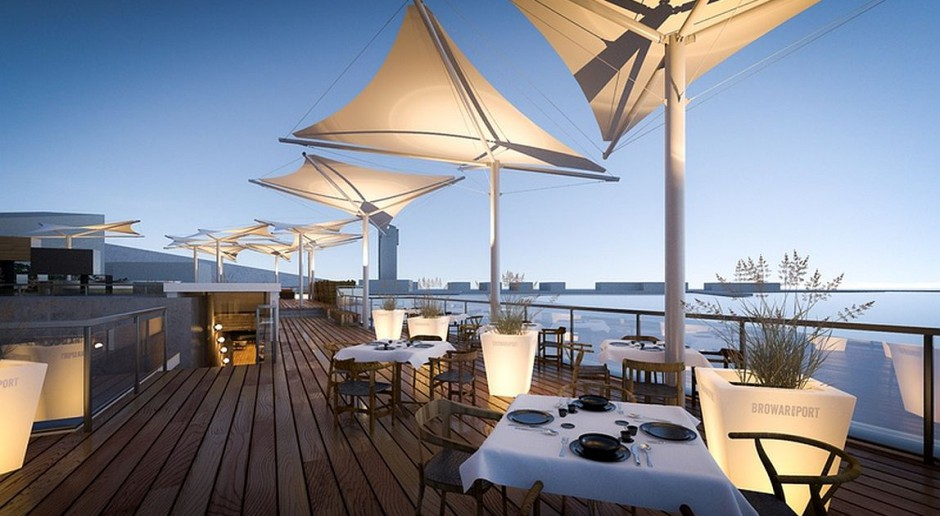 Duch gdyńskiego modernizmu w nowo powstającym Browarze Port Gdynia