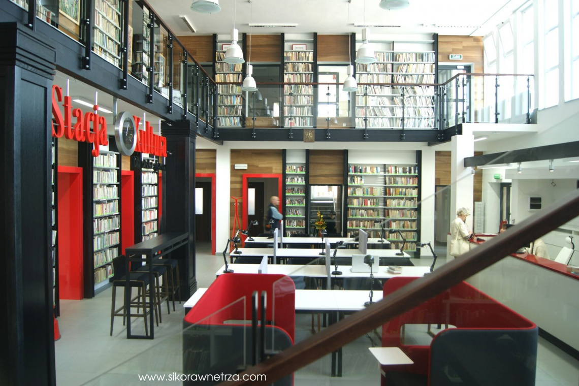 To już trend! Kolejna biblioteka na polskim dworcu