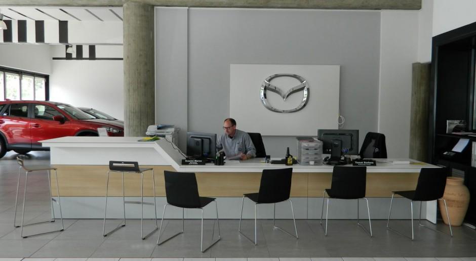 Otomi dla Mazdy: Salon samochodowy może być designerski