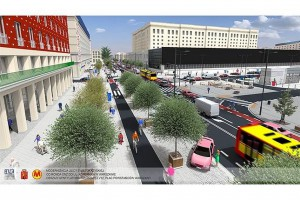 Warszawa: Wiemy jak będzie wyglądać ulica Świętokrzyska