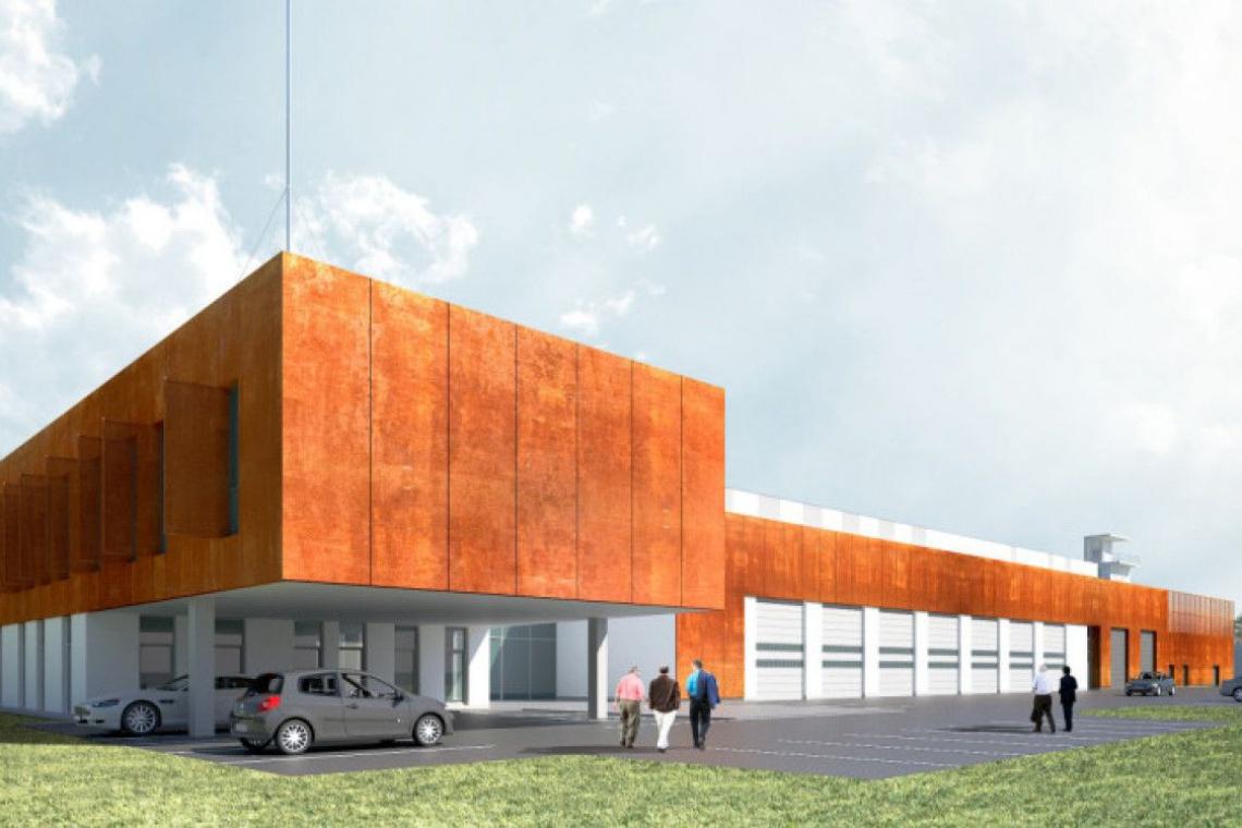 Pro-Invest zaprojektował, a P.A. Nova wybuduje biurowiec straży w Mysłowicach
