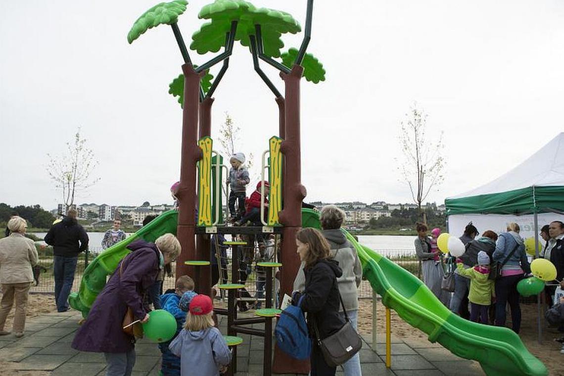 Kolejny ekologiczny plac zabaw powstał w Gdańsku