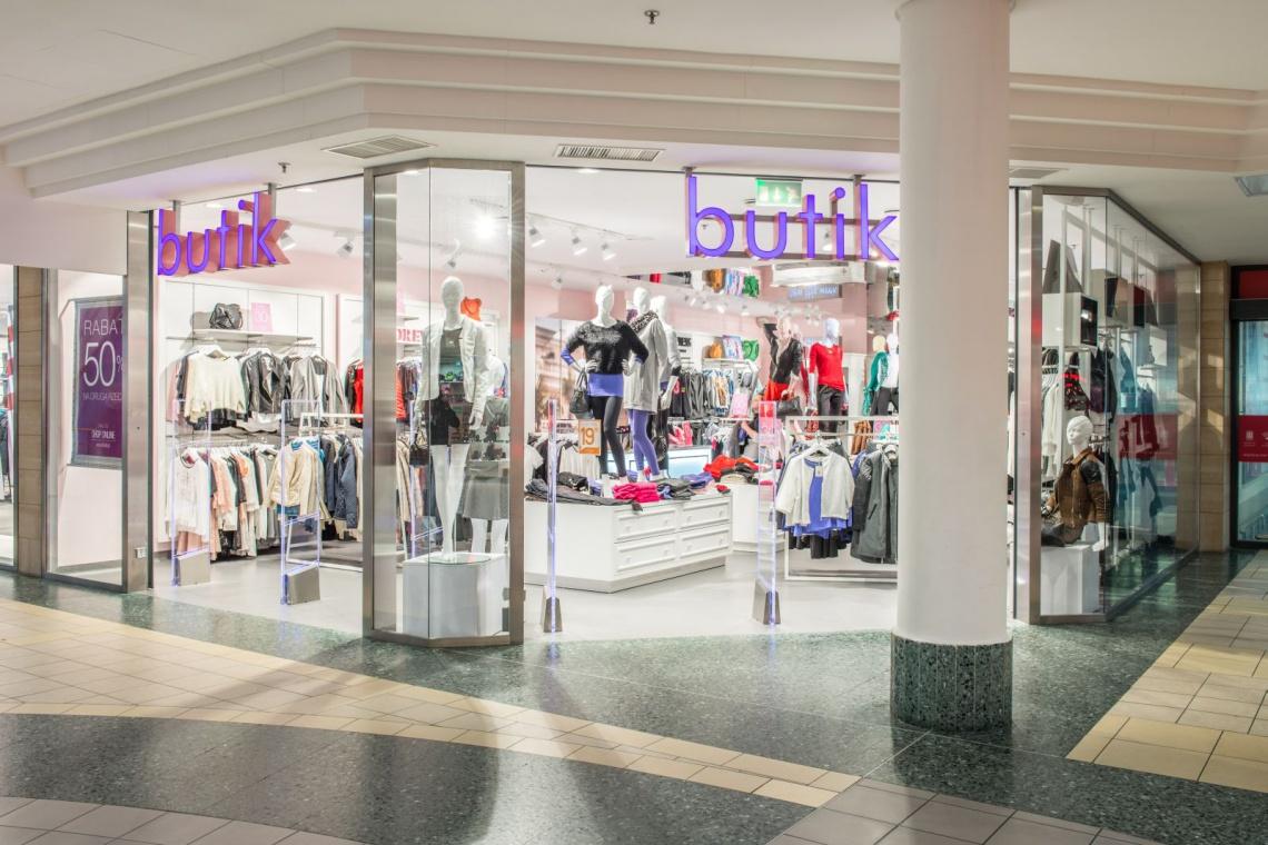 Butik postawił na nowy shop concept, a inspiracją była Japonia