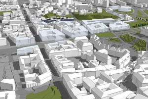 Jest projekt zagospodarowania Podzamcza w Lublinie