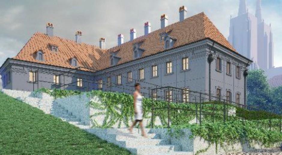 Biblioteka Archidiecezjalna w rekonstruowanej barokowej bryle
