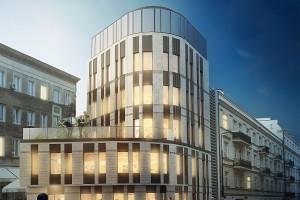 Grupa 5 Architekci zaprojektowała elegancki biurowiec w Śródmieściu