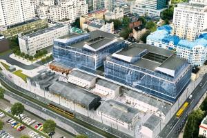 Budynki dawnej fabryki Norblina będą przesuwane i podwieszane