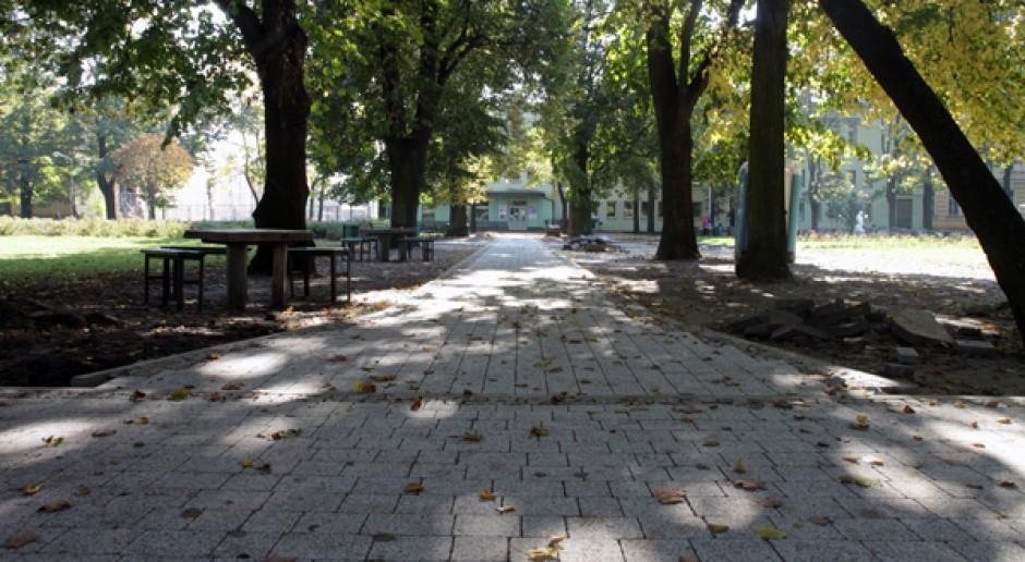Park im. Sienkiewicza do rewitalizacji