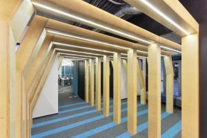 Zaprojektowali przestrzeń typu biuro google