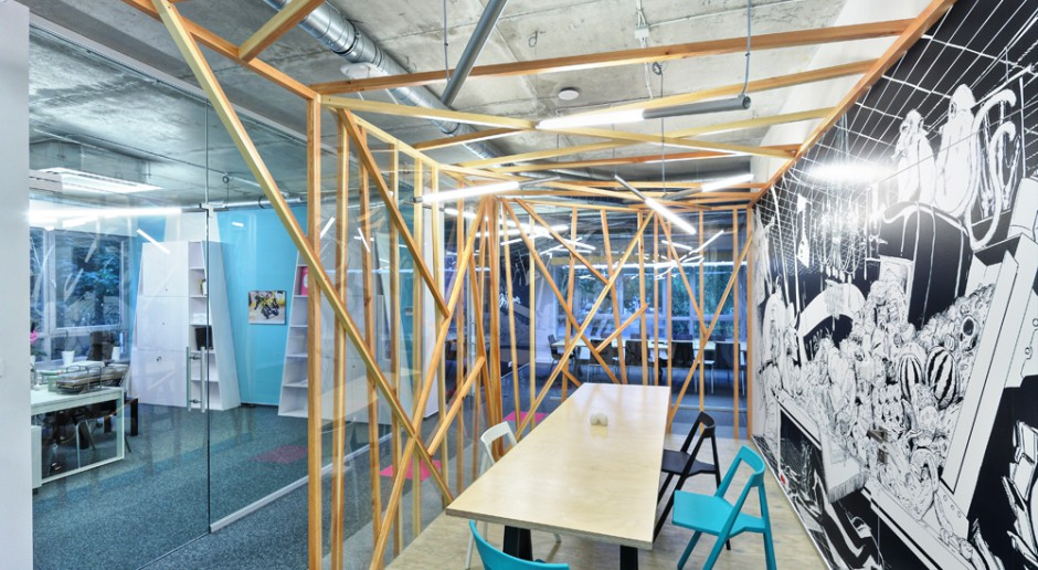 Biuro sprzyjające kreatywności
