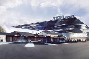 Kosmiczny dworzec autobusowy w Zakopanem projektu B-A-S