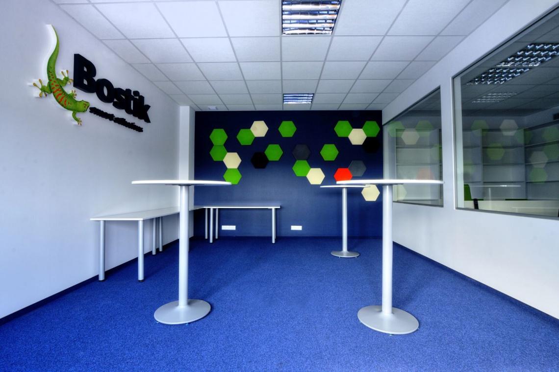 Elastyczne i kreatywne biuro firmy Bostik
