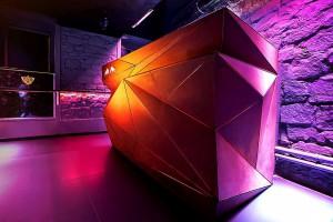 Aranżacja nocnego klubu według Musk Collective Design