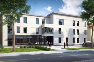 Skanska kończy budowę Centrum Leczenia Bólu w Mońkach. To projekt Joanny Czarnowicz