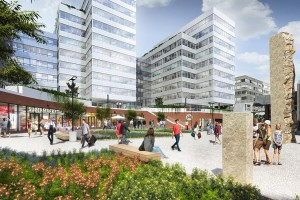 Metronom Business Center - zobacz nowy kompleks biurowy HB Reavis w Pradze