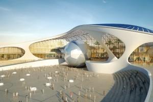 Bose International zaprojektowało muzeum w Katarze o unikalnej bryle