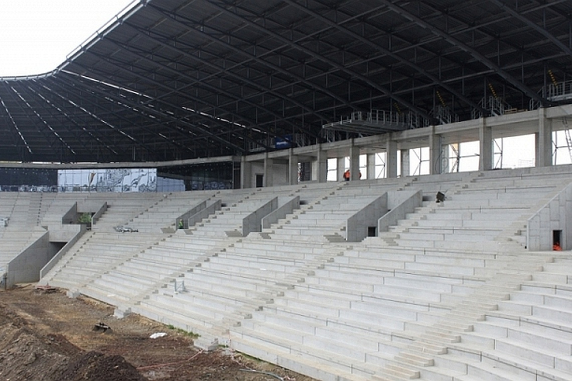 Stadion GKS Tychy: najnowsze wieści z budowy