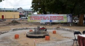 Rewitalizacja wokół dworca w Białogardzie na finiszu