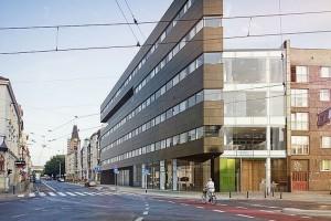 Nicolas Business Center - biurowiec złożony z dwóch brył