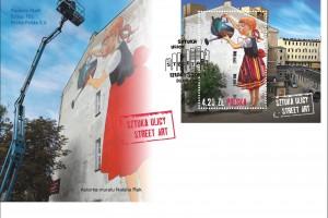 Jeden z najsłynniejszych murali w Polsce wybrała Poczta Polska
