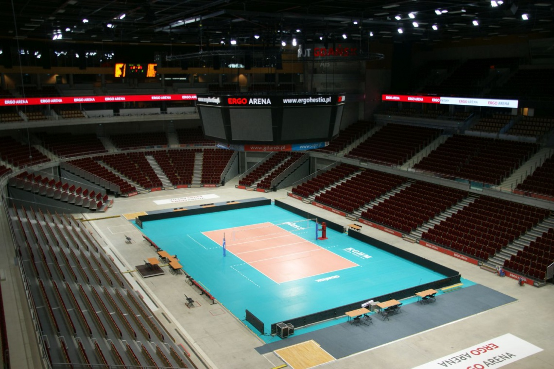 Zobacz jak zmieniła się Ergo Arena w Gdańsku - dużo zdjęć