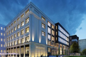 Bohdan Ufnalewski zaprojektował koncepcję architektoniczną Dzielnej 60