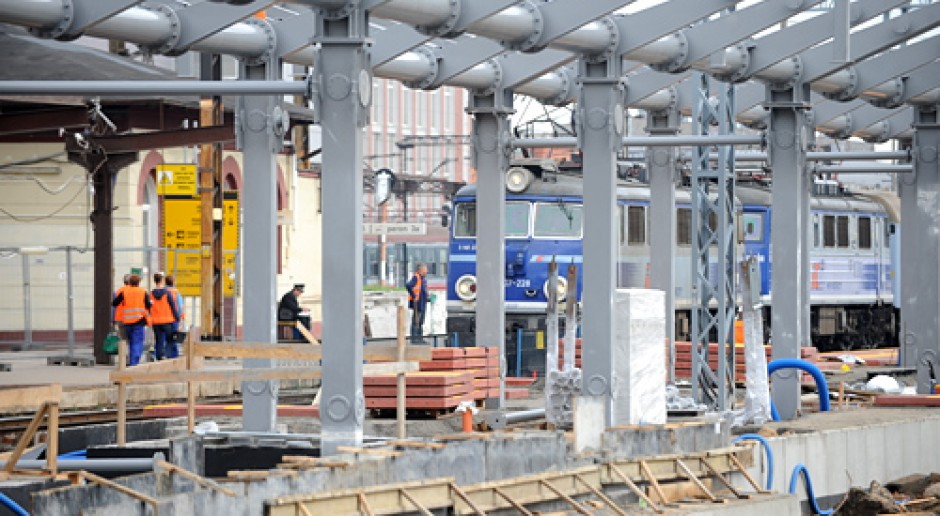 Nowe wieści z budowy dworca w Bydgoszczy
