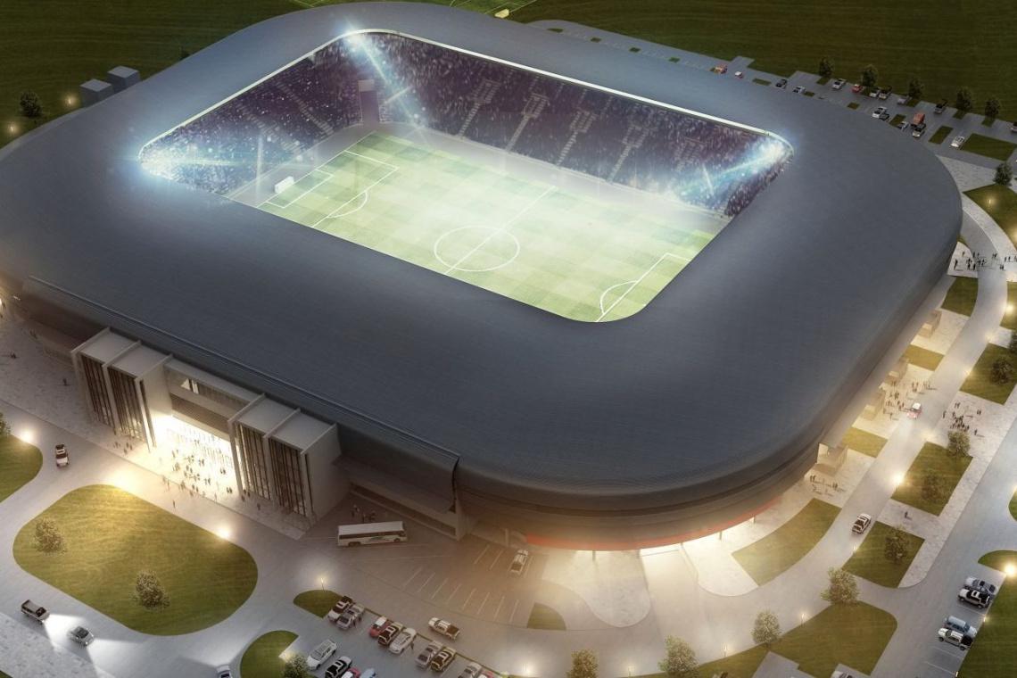 Stadion GKS Tychy oświetli 218 lamp