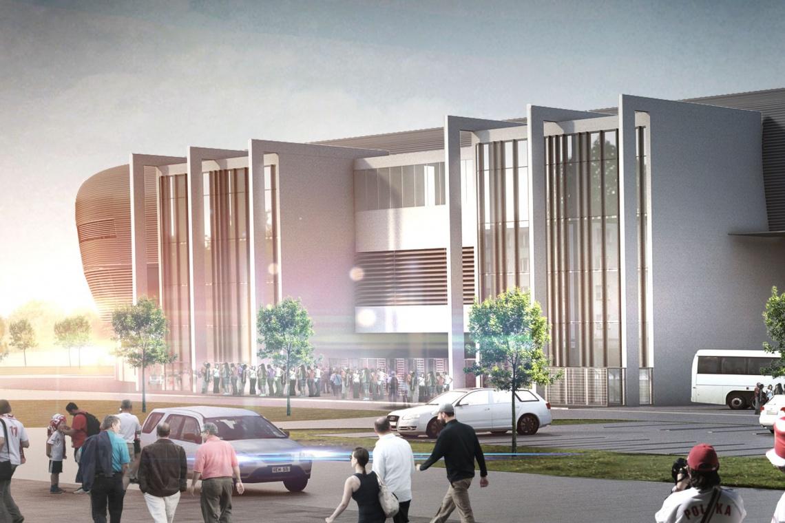 Zobacz najnowsze wizualizacje stadionu GKS Tychy