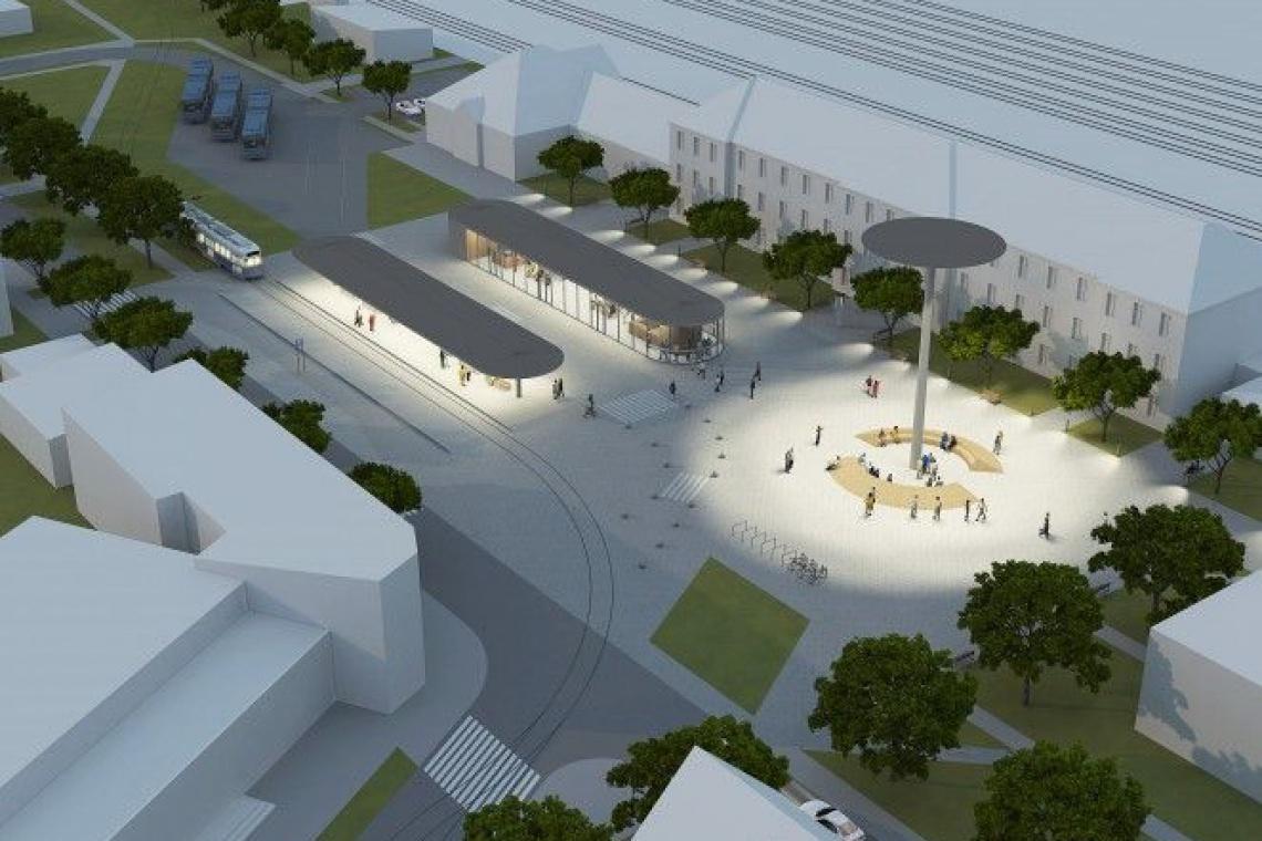 Zamiast zapuszczonego dworca, miejskie centrum komunikacyjne