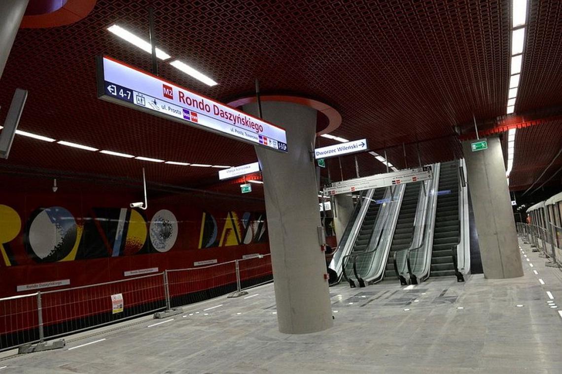 II linia metra jednak opóźniona. Otwarcie w grudniu?