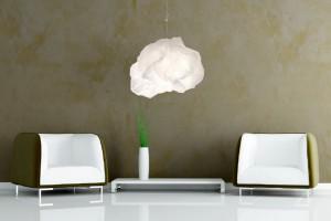 Lampa - chmura zmieniająca kształt od Margje Teeuwen & Erwin Zwiers