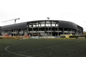 Zobacz najnowsze zdjęcia z budowy stadionu GKS Tychy