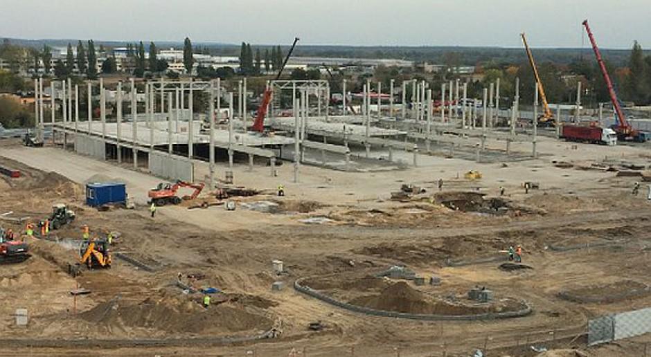 Postępują prace przy budowie IKEA w Bydgoszczy